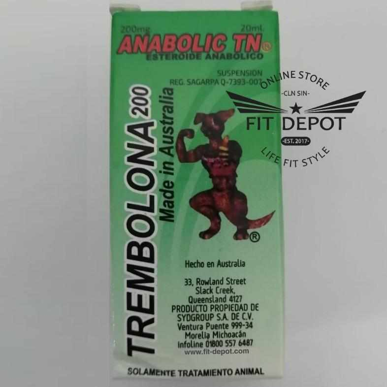 TREMBOLONA 200mg / Anabolic TN / 20ml Canguro - FIT Depot de México