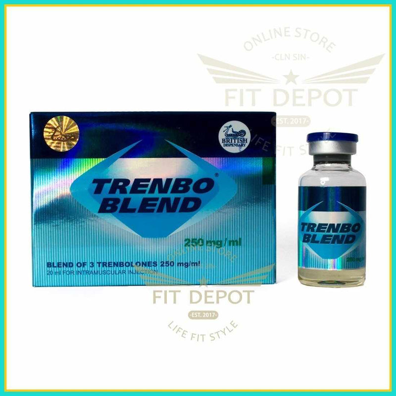 TRENBO BLEND - BLEND OF 3 TREMBOLONES 250 mg/ml - British Dispensary - FIT Depot de México