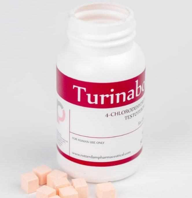 Turinabol 10 mg / 4 Chlorodehydromethyl / 50 tabletas - / Esteroides ROTTERDAM PHARMACEUTICAL - FIT Depot de México