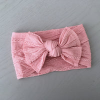Knot Headwraps - 14 Colours (Christmas Red Available)