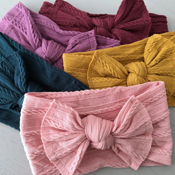 Knot Headwraps - 24 Colours