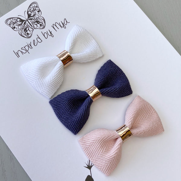 Fabric Bow Set