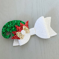 Christmas Bow - Elf Hat
