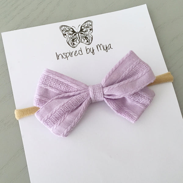 Juliette Bow - Light Purple