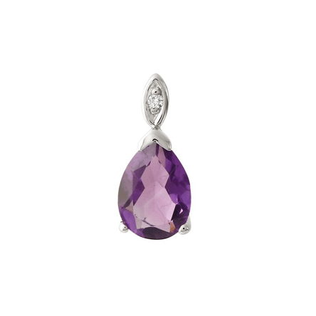 Amethyst Courage Pendant