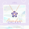 Iolite Flower Child Pendant - JEOEL