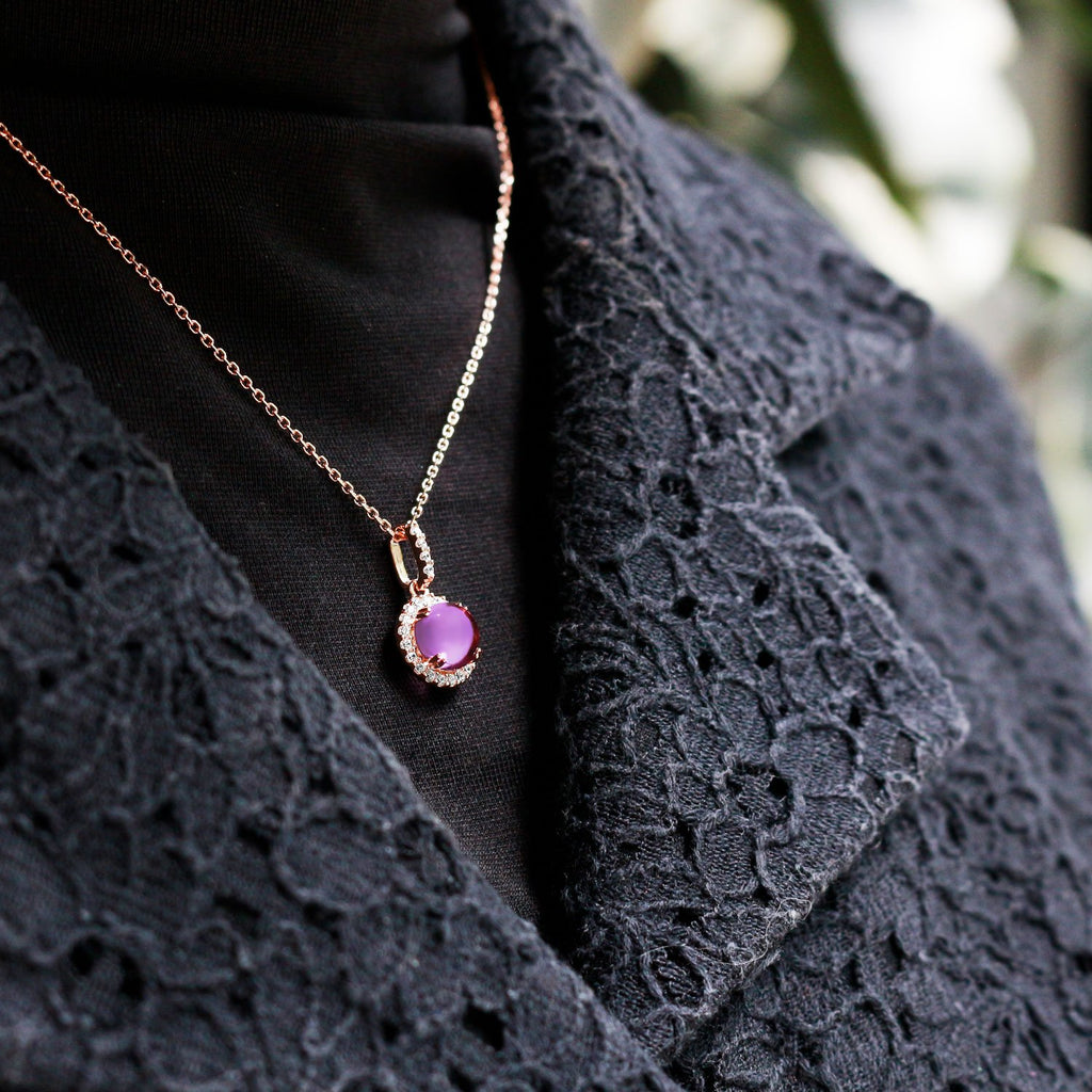 Amethyst Belle Necklace - JEOEL
