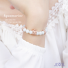 Magic Castle Aquamarine Bracelet Set - JEOEL