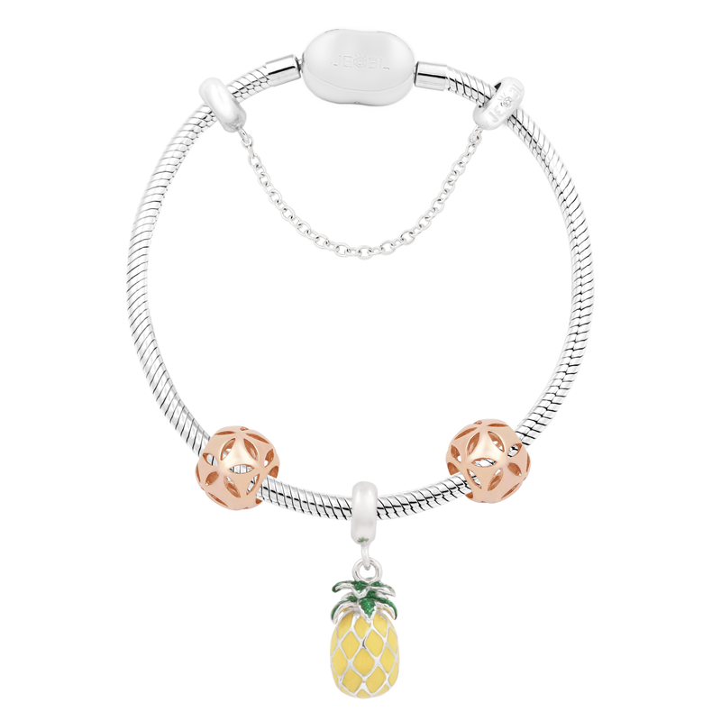 Juicy Pineapple Bracelet Set - JEOEL
