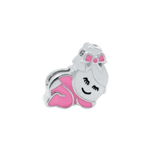 Sleep Babygirl Bead