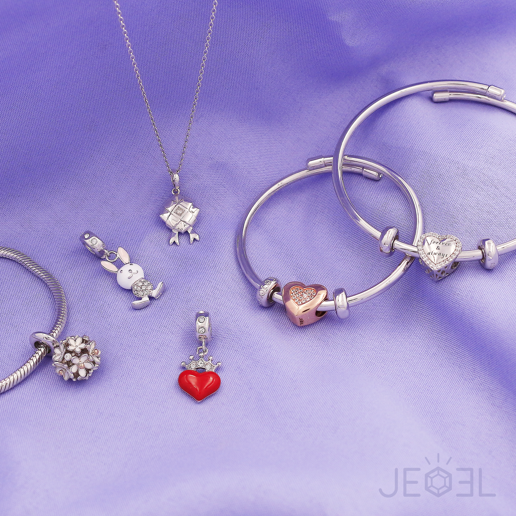 Queen of Heart Charm Bead - JEOEL