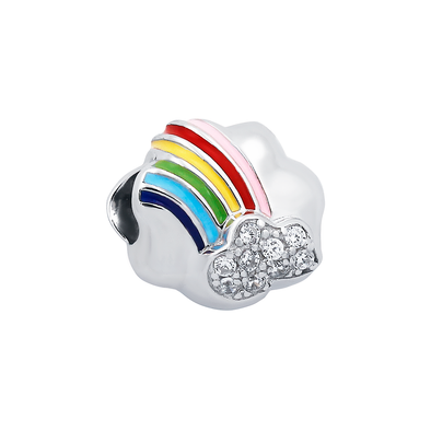 Rainbow Cloud Bead