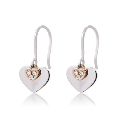Precious Love Diamond Earrings - JEOEL