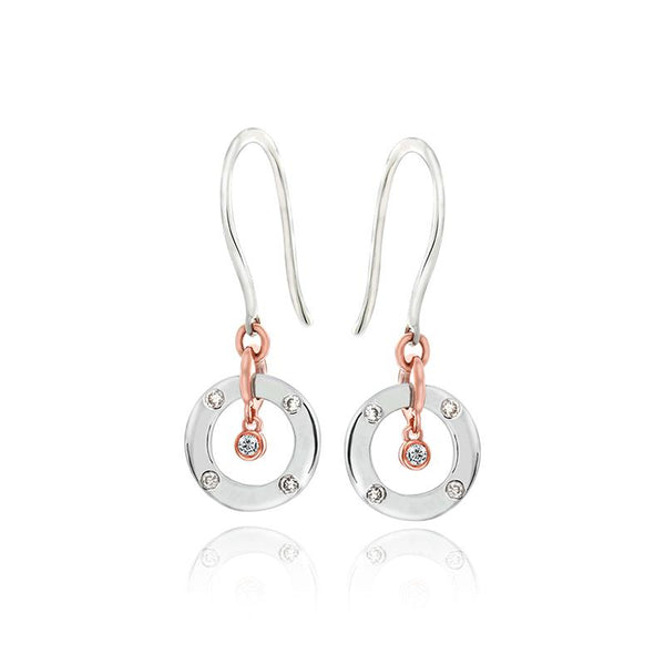 Precious Halo Diamond earrings - JEOEL