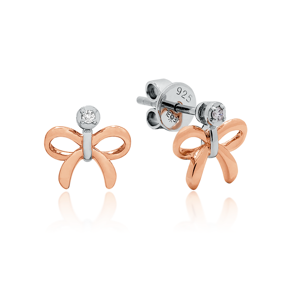 Love Knot Rose Earrings - JEOEL