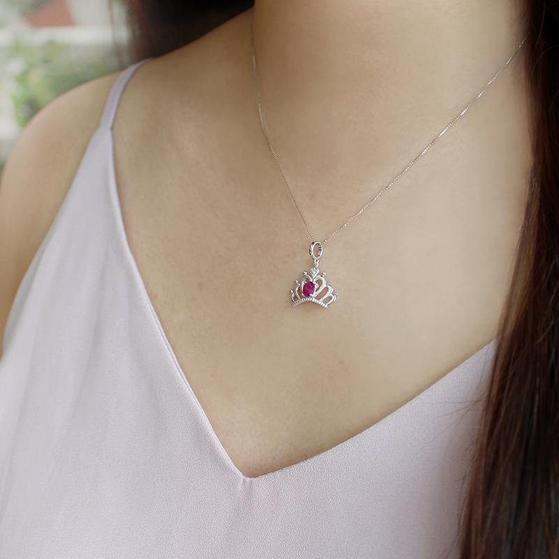 Diamond Crown Pendant - JEOEL