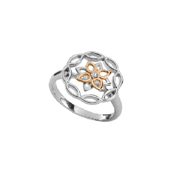 Kaleido Lotus Diamond Ring - JEOEL