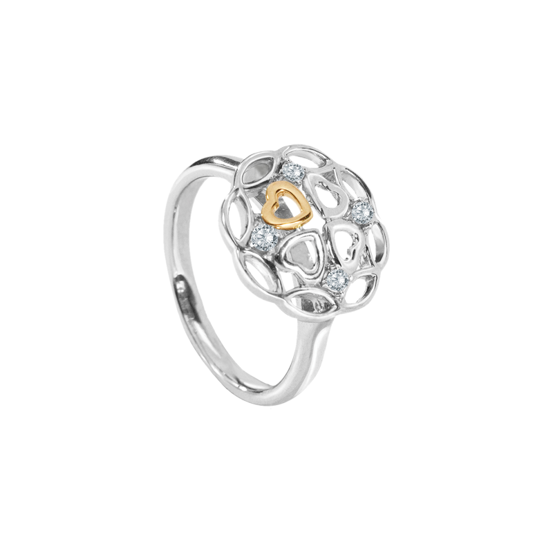 Kaleido Lucky Clover Diamond Ring - JEOEL