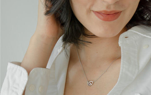 Ruby Heart Necklace - JEOEL