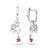Ruby Angel Earrings - JEOEL