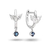 Sapphire Angel Earrings - JEOEL