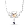 Sapphire Angel Necklace - JEOEL
