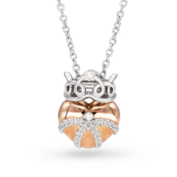 Diamond Heart Queen Necklace - JEOEL