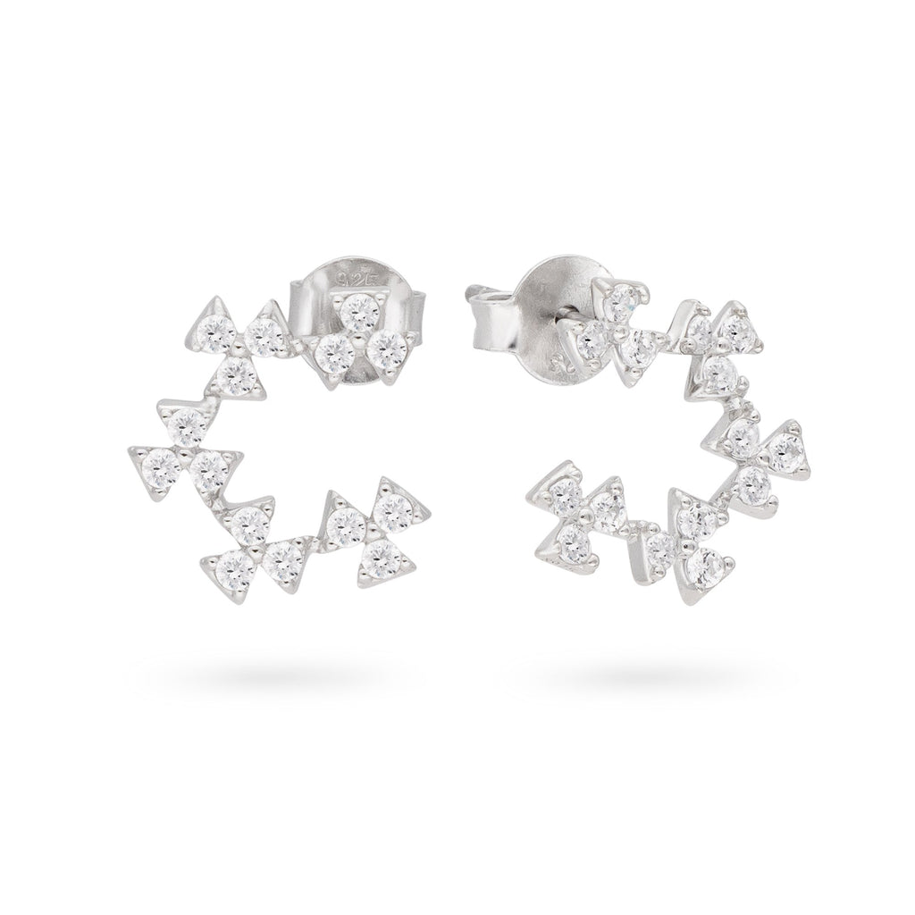 Frosty Flower Earrings - JEOEL