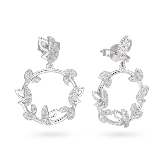 Butterfly Halo Earrings