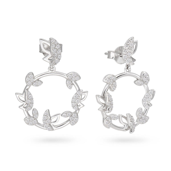 Butterfly Halo Earrings - JEOEL