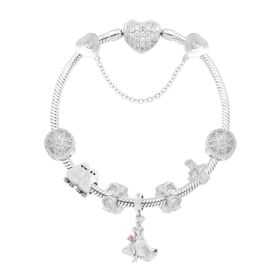 Diamond Cinderella & Animal Friends Bracelet Set - JEOEL