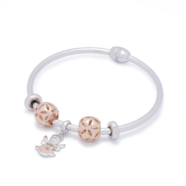 Diamond Angel Bangle Set - JEOEL