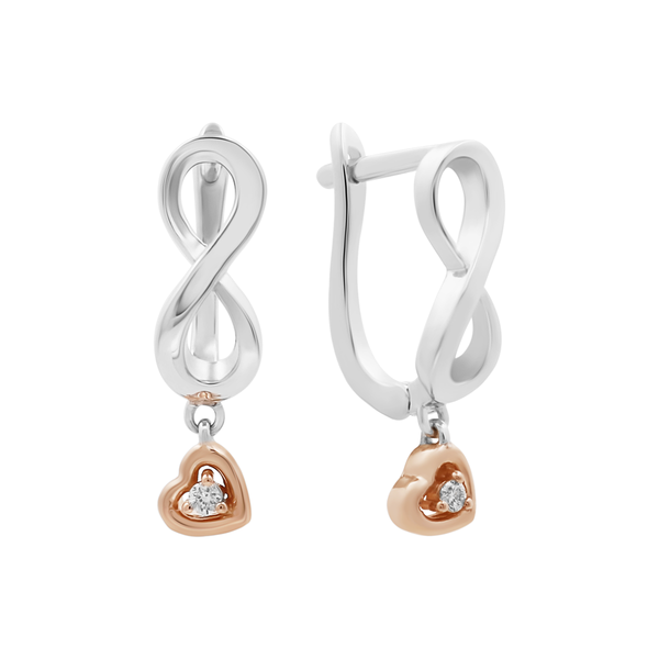 [PRE-ORDER] Diamond Infinity earrings [Receive it before 13 July 2020] - JEOEL
