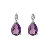 Amethyst Courage Earrings - JEOEL