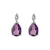 Amethyst Courage Earrings