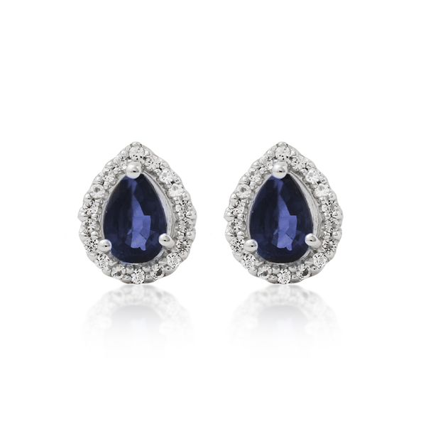 Sapphire Joy Earrings - JEOEL