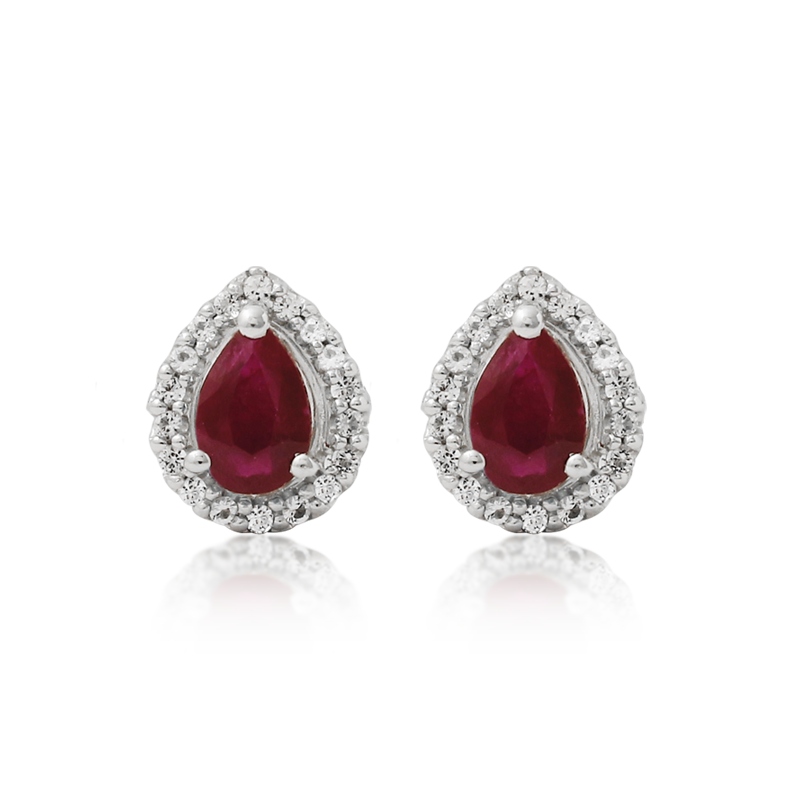 Ruby Adventure Earrings - JEOEL