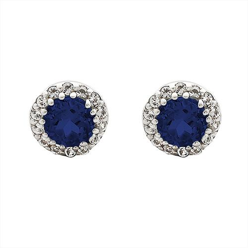 Sapphire Joy Earrings