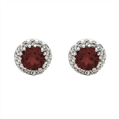 Ruby Adventure Earrings
