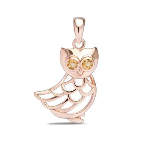 Owl Be Watching You Pendant - JEOEL