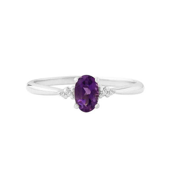 Amethyst Courage Ring - JEOEL