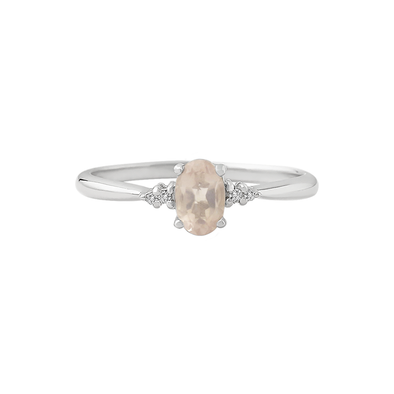 Rose Quartz Love Ring - JEOEL