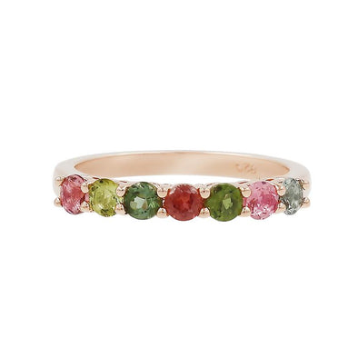 Rainbow Tourmaline Ring - JEOEL