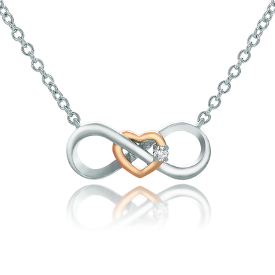 Diamond Infinity Necklace - JEOEL