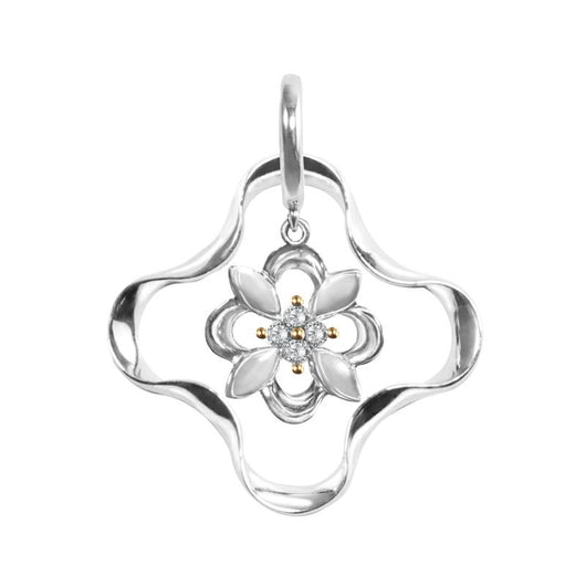 Kaleido Mini Flower Diamond Pendant - JEOEL