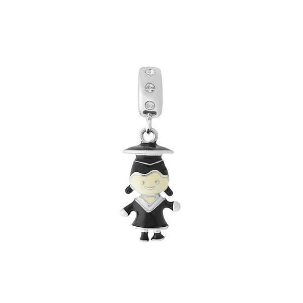 Graduation Girl Charm Bead - JEOEL