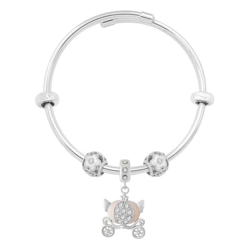 Marble Carriage Bangle Set - JEOEL