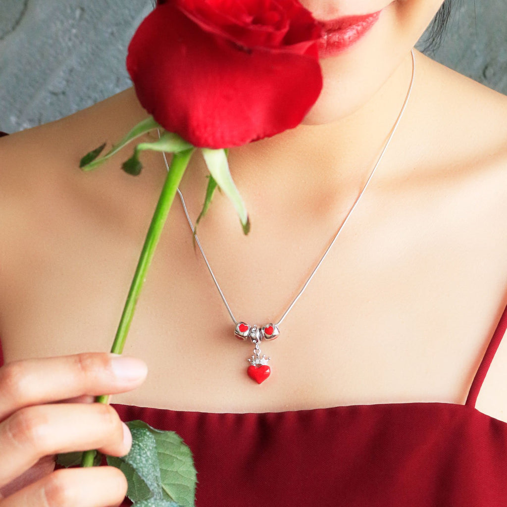 Queen of Heart Necklace Set - JEOEL