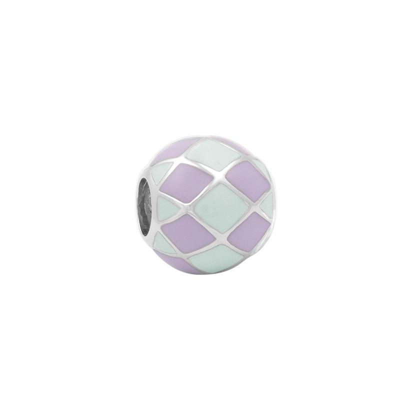 Checker Enamel Bead - JEOEL