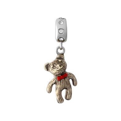 Teddy Bear Charm Bead